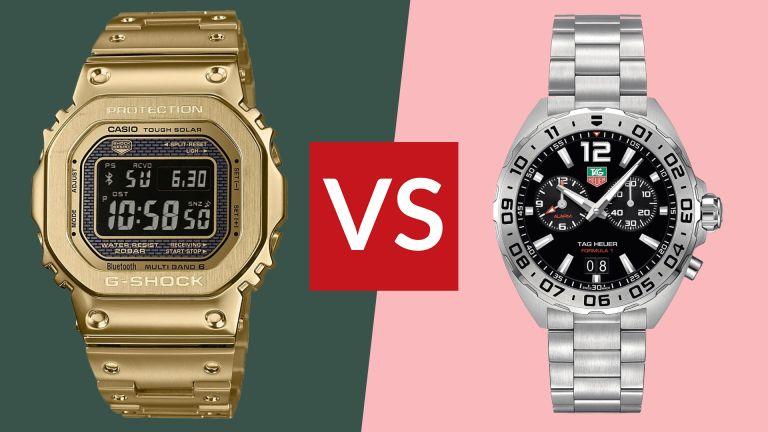 Digital watch vs analogue watch