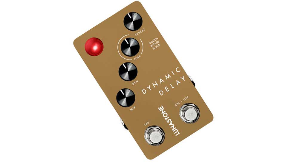 NAMM 2019: Lunastone touting their first ever non-analog pedal, Digital Delay