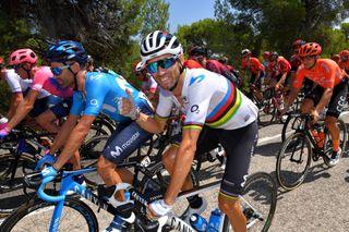 Alejandro Valverde at the 2019 Vuelta a Espana