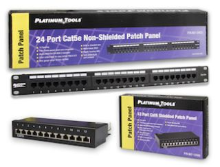 Platinum Tools to Feature New Patch Panels at InfoComm