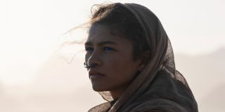 Zendaya's Chani staring into the distance in Dune