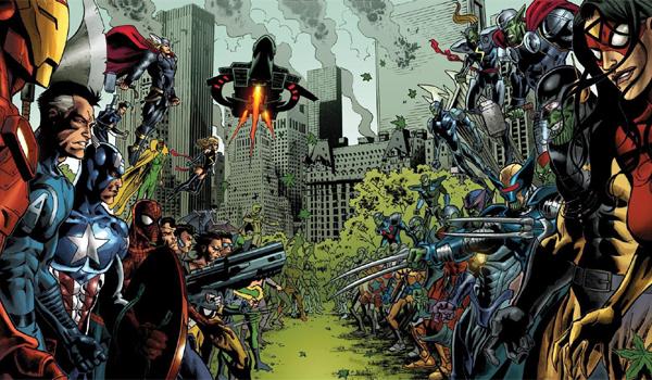 Secret Invasion Marvel Comics