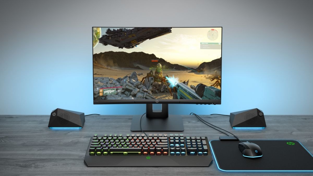 HP's X24c is a curved gaming monitor for gamers on a budget
