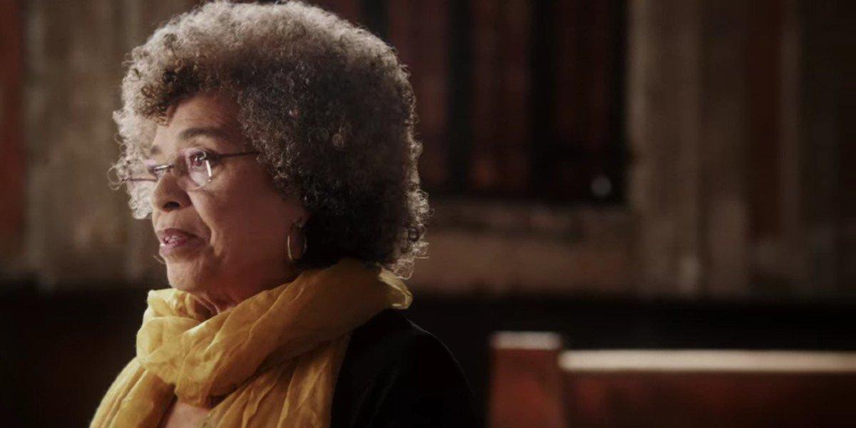 Angela Davis in the documentary 13th