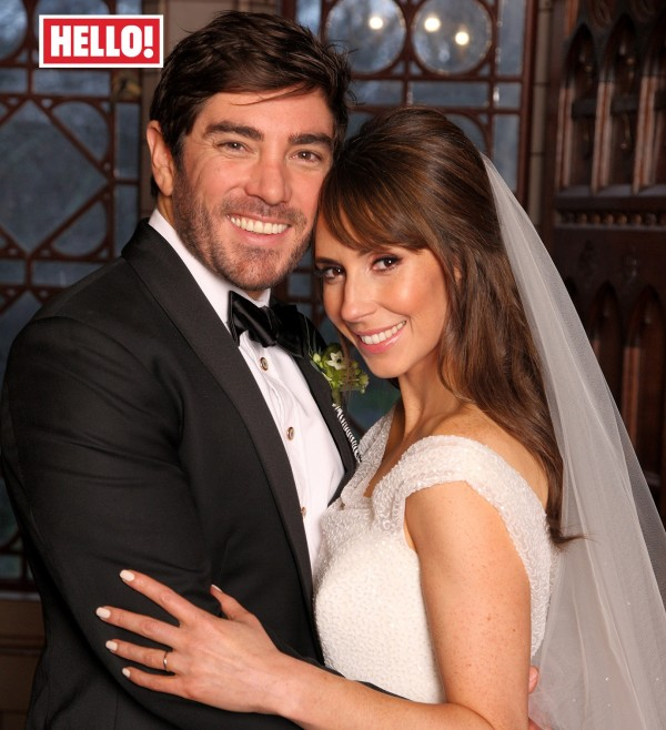 Alex's wedding picture in Hello! magazine