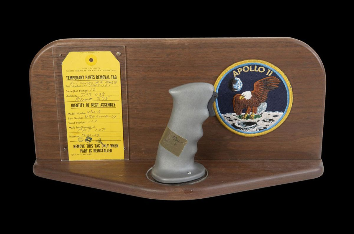 Apollo 11 spacecraft joysticks top $780K at auction, despite NASA concerns