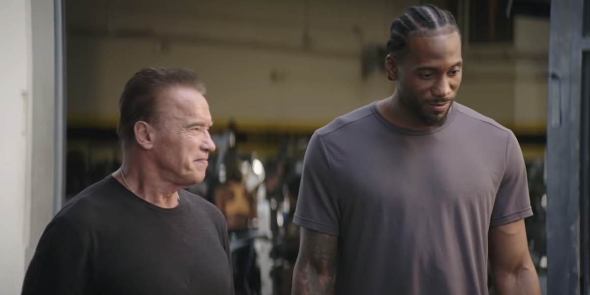 Kawhi Leonard And Arnold Schwarzenegger Made A Terminator Commercial And It's Even Weirder Than You'd Guess