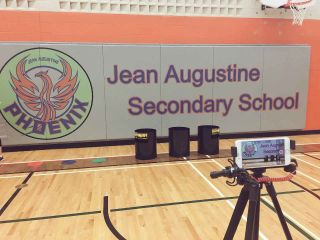 Jean Augustine Secondary School gym