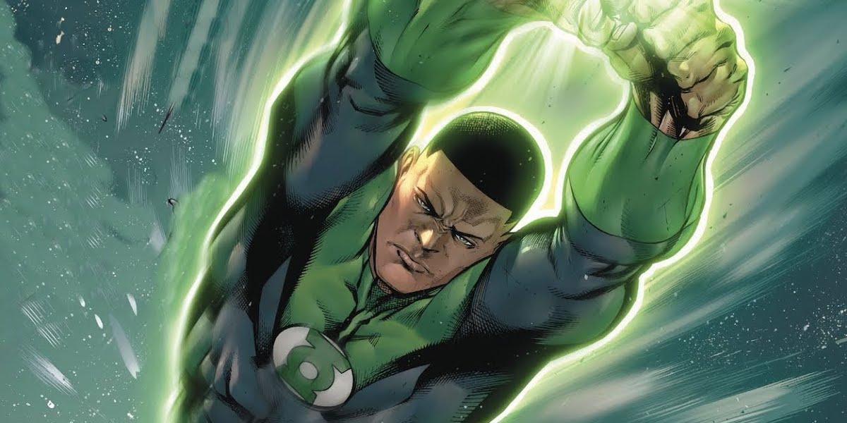 Green Lantern in the comics