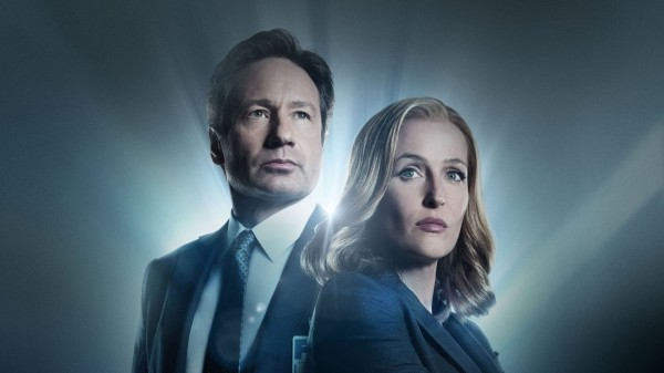 The X-Files stars David Duchovny and Gillian Anderson