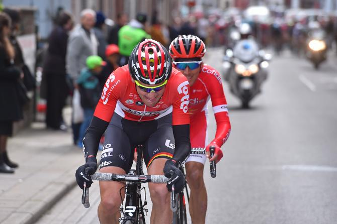 Tim Wellens (Lotto Soudal) and Stephane Rossetto (Cofidis)