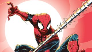 Spiderman vector created in Adobe Illustrator