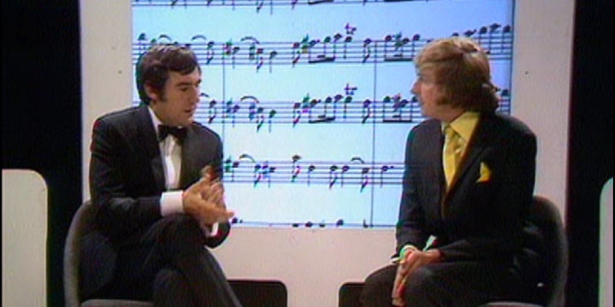 Eric Idle and Terry Jones in 2 Sheds Sketch from Monty Python's Flying Circus