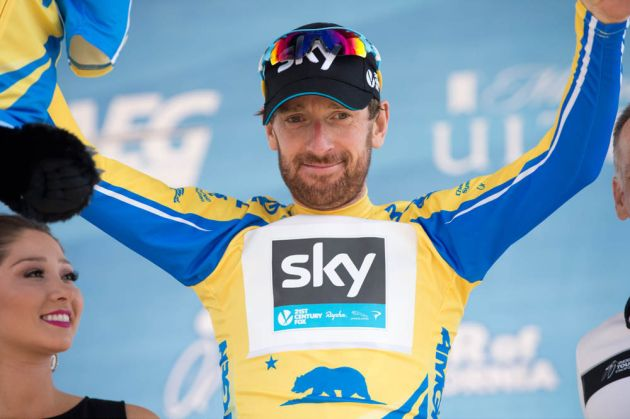 Bradley Wiggins, Stage 6 of the 2014 Amgen Tour of California, Santa Clarita to Mountain High