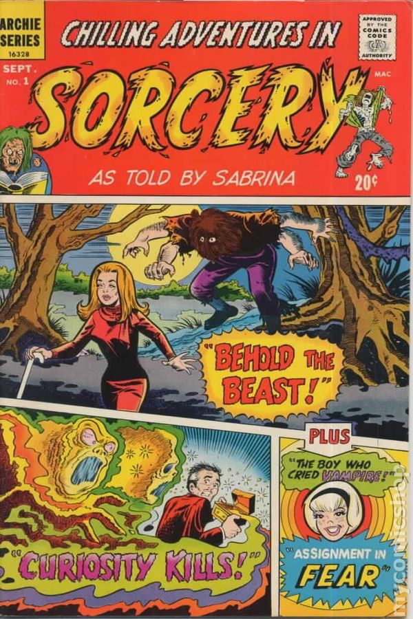 Chillin Adventures in Sorcery cover riverdale sabrina