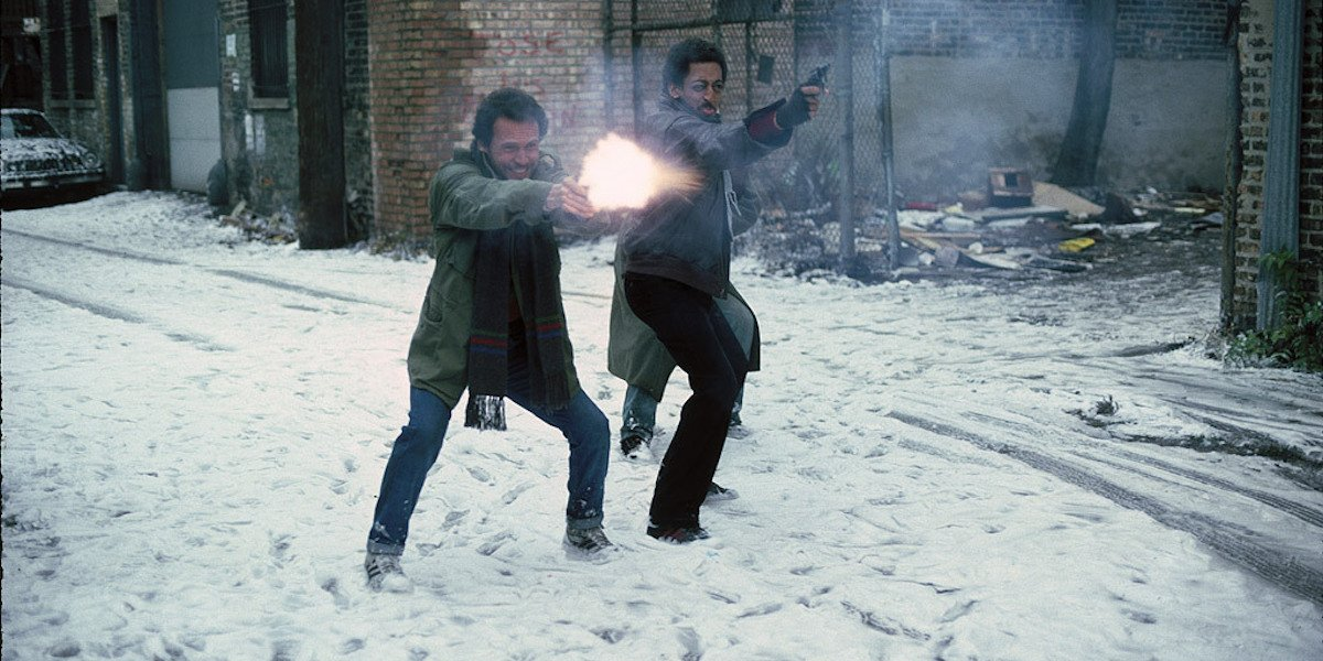 Billy Crystal and Gregory Hines in Running Scared
