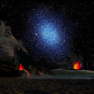 Dwarf Galaxy from Exoplanet