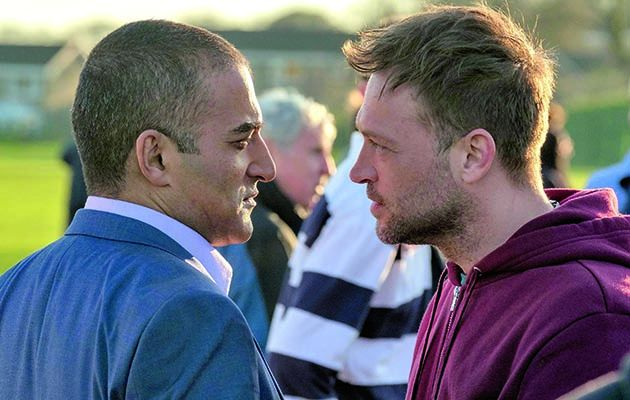 This week in Ackley Bridge things are just a touch tense between Sadiq and Steve
