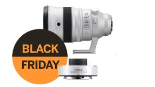 Get £269.95 off a Fujifilm 200mm f/2 lens + teleconverter this Black Friday