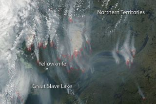 Yellowknife fires, wildfires