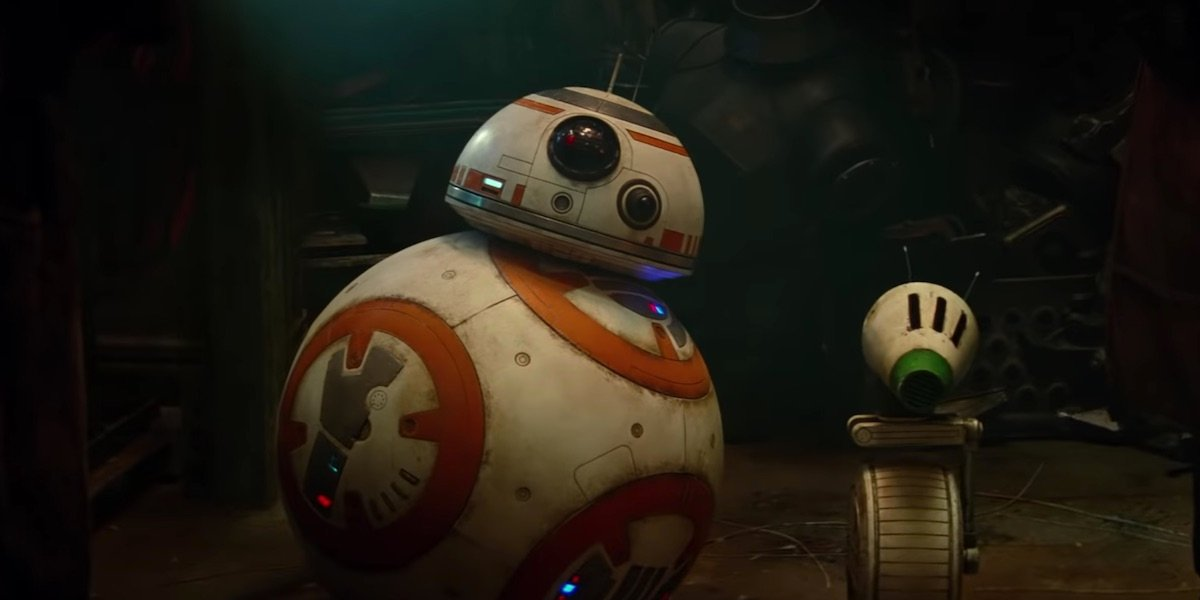 BB-8 and D/O in Star Wars: The Rise of Skywalker