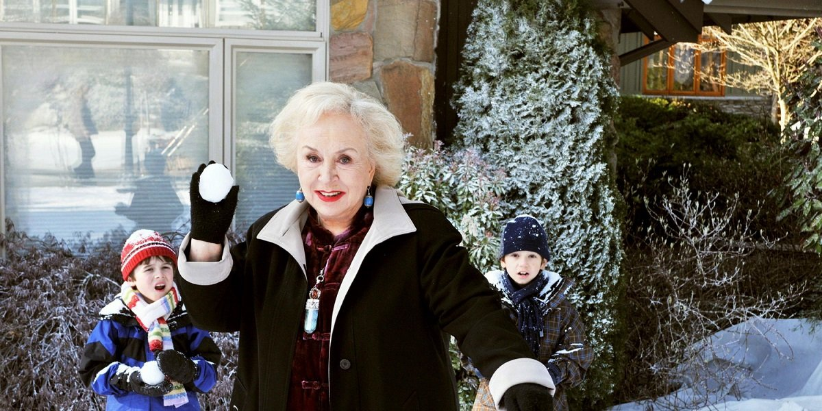 Doris Roberts in Mrs. Miracles on Hallmark Channel