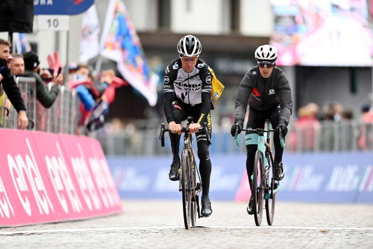 George Bennett on stage 16 of the 2021 Giro d'Italia