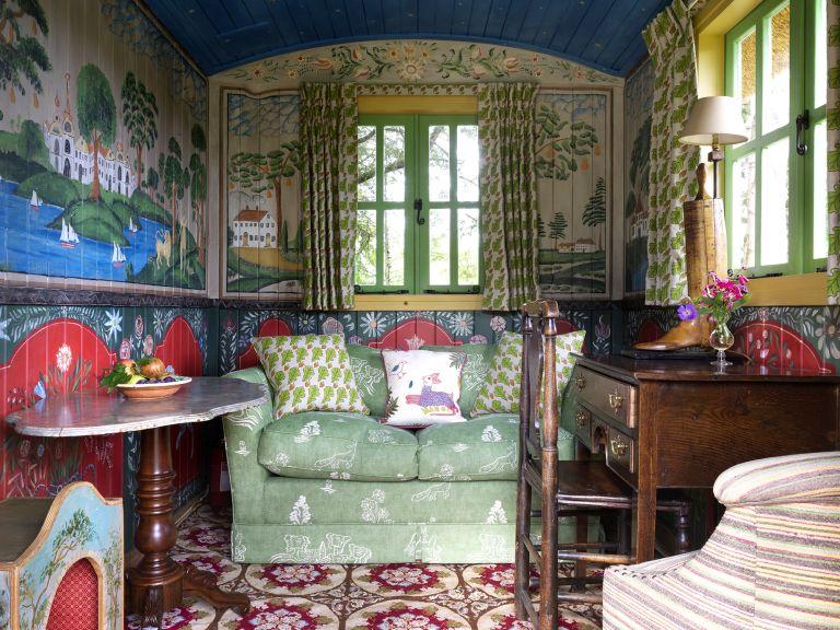 Folksy Look - Kit Kemp interior
