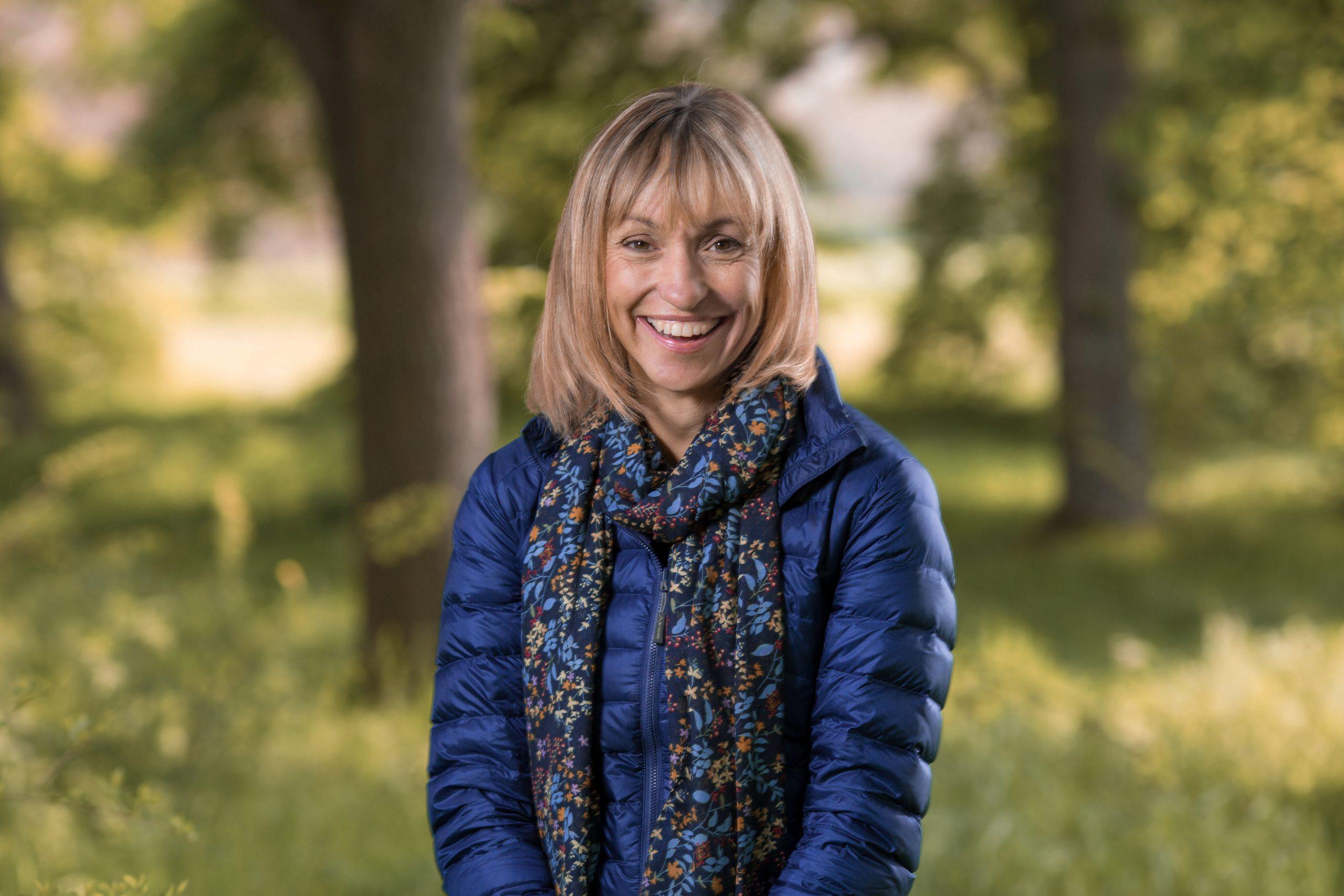 Presentadora de Autumnwatch Michaela Strachan