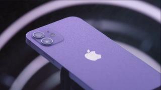 Apple Event Purple iPhone 12