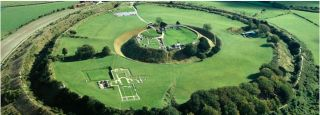 Archaeologists have uncovered the layout of a medieval city near Salisbury, England.