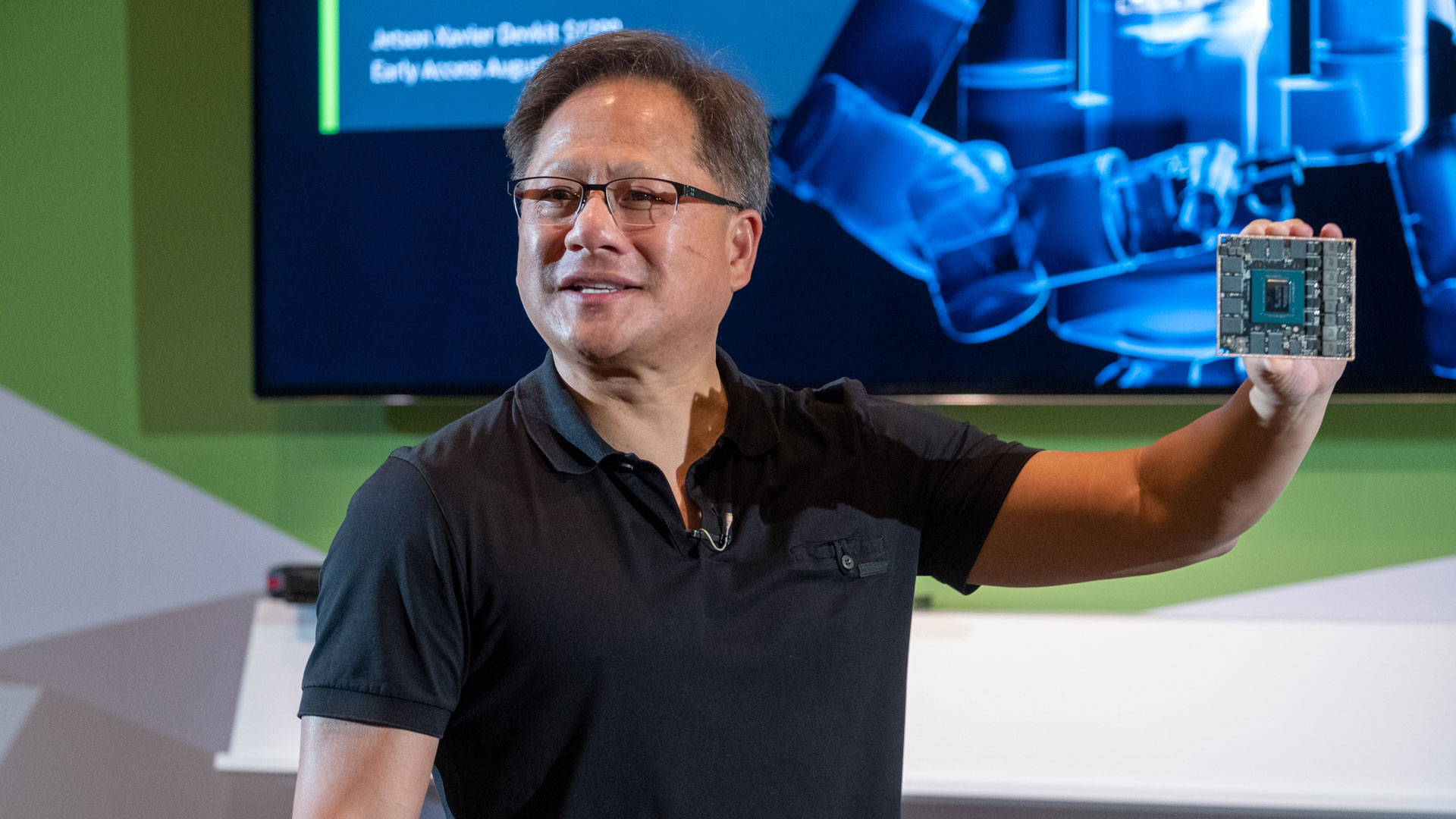Nvidia CEO says it will be 'a long time' before next-gen GeForce