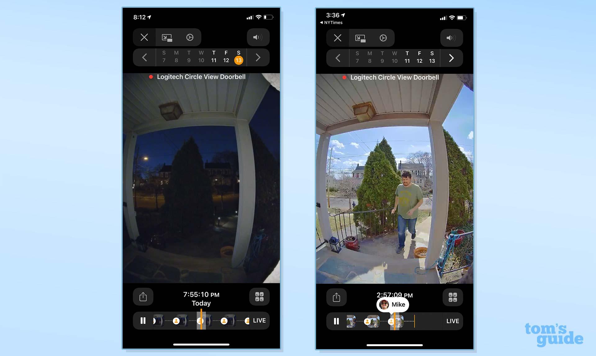 Video reviews Logitech Circle View Doorbell