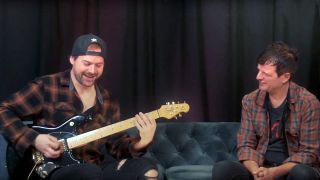 Jared Dines interview with Guitar World