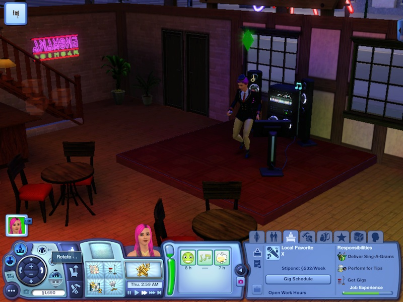 The Sims 3 Showtime Expansion Pack Review: Music, Magic And Acrobatics #21037