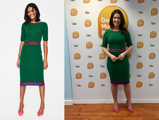 Susanna Reid S Dresses Where Does The Gmb Presenter Buy Her Frocks