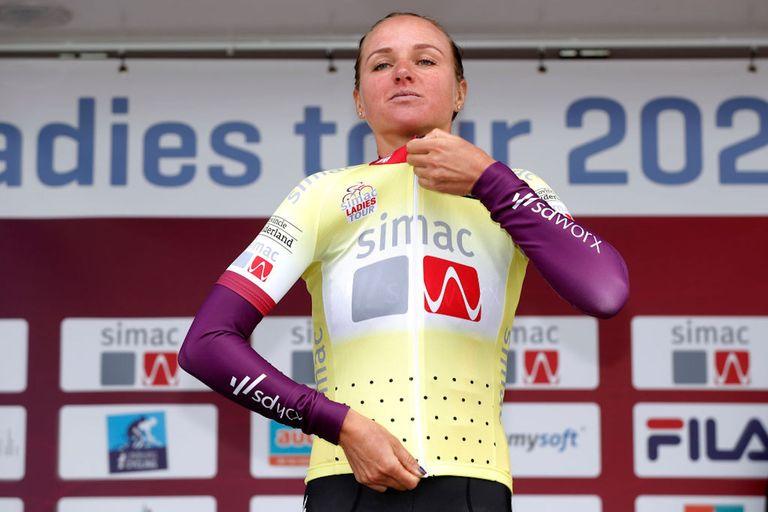 Chantal van den Brek-Blaak (SDWorx) winner of the 2021 Simac Ladies Tour