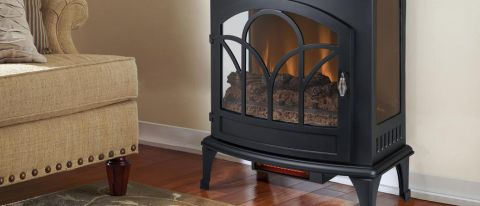 Muskoka 25-inch Freestanding Infrared Curved Front Stove Review