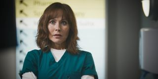 Casualty star Amanda Mealing as Connie Beauchamp