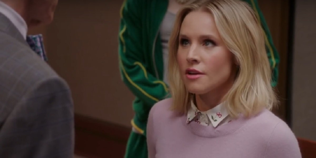 Kristen Bell as Eleanor Shellstrop in The Good Place