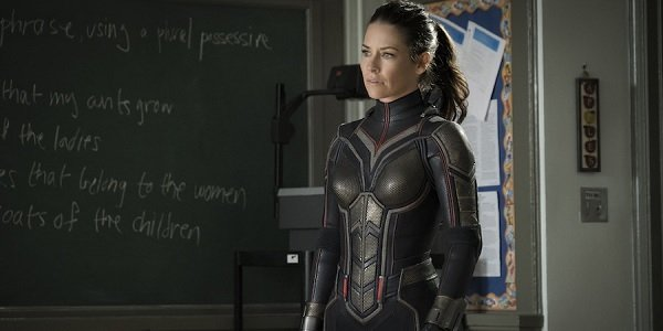 Ant-Man and The Wasp Evageline Lilly The Wasp stands in a classroom