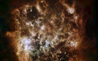Dusty Space Cloud
