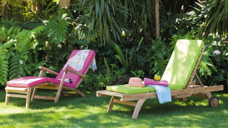 Best garden sun loungers: lie back and catch some rays | Real Homes