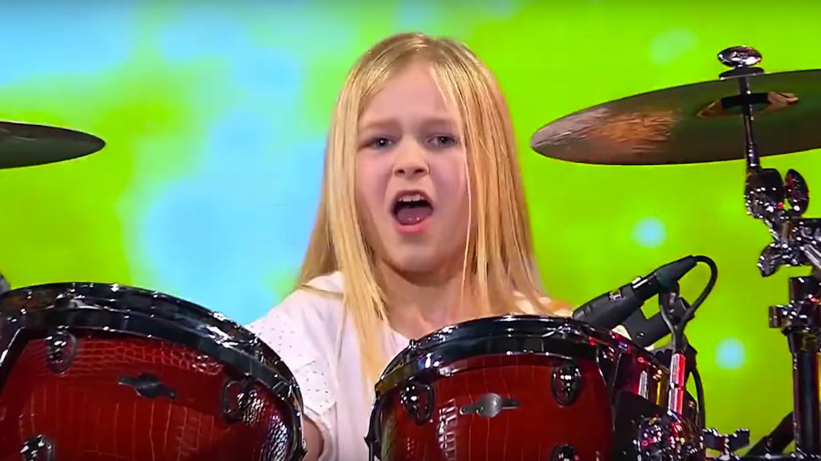 10-year-old drummer wins Denmark's Got Talent | Louder