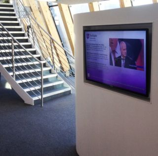 Durham University Business School Integrates Digital Signage and IPTV