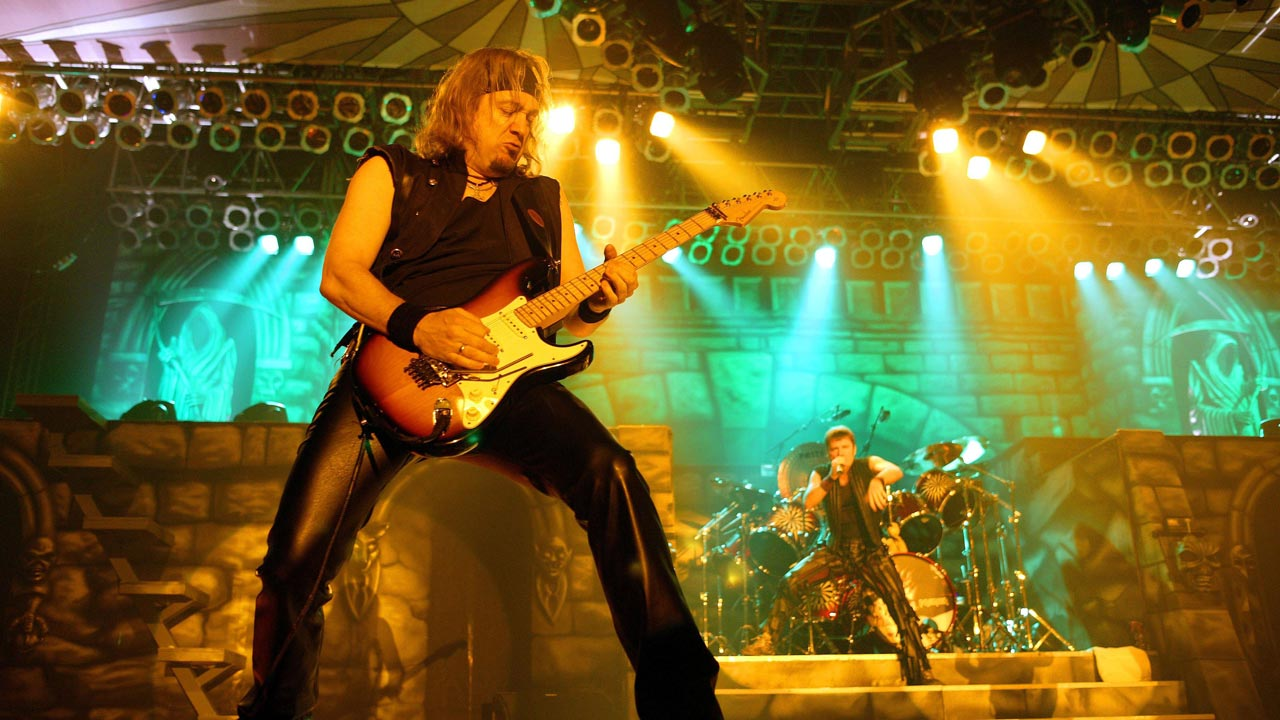 The top 10 best Adrian Smith Iron Maiden songs