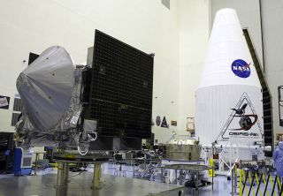 OSIRIS-REx Awaiting Encapsulation