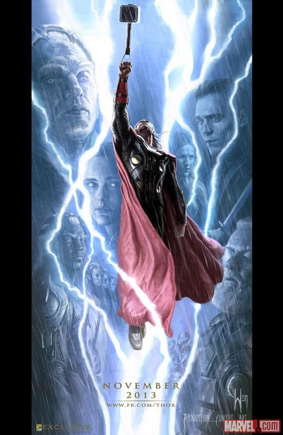 Thor Comic-Con Poster
