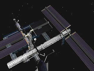 Mission Discovery: Astronauts Partially Retract ISS Solar Array
