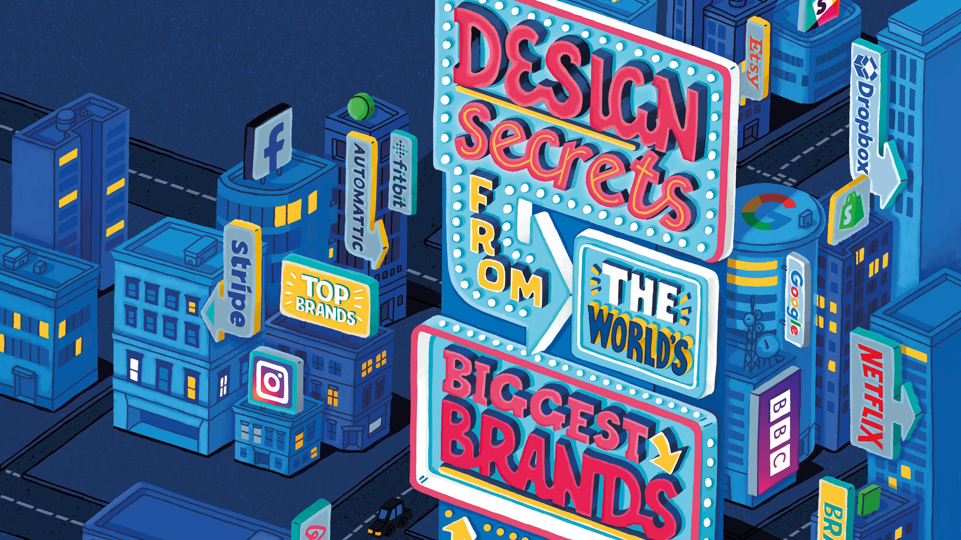 15 web design secrets from the world's biggest brands